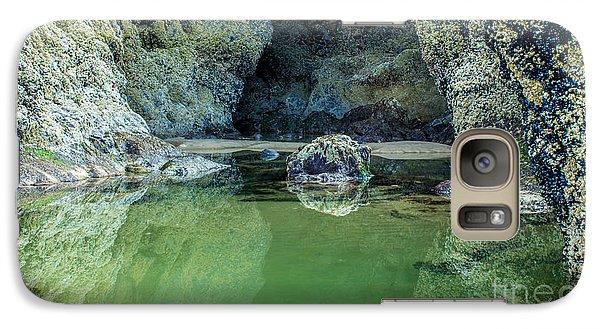 Tidepool Shades Of Green At Sunrise Galaxy S7 Case
