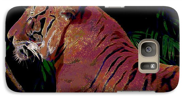 Galaxy Case featuring the painting Tiger 2 by David Mckinney
