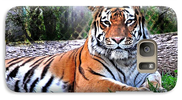Galaxy Case featuring the photograph Tiger 2 by Marty Koch