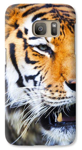 Tiger Galaxy S7 Case by David Millenheft