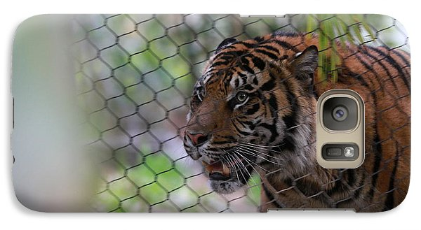 Galaxy Case featuring the photograph Tiger by Edward R Wisell