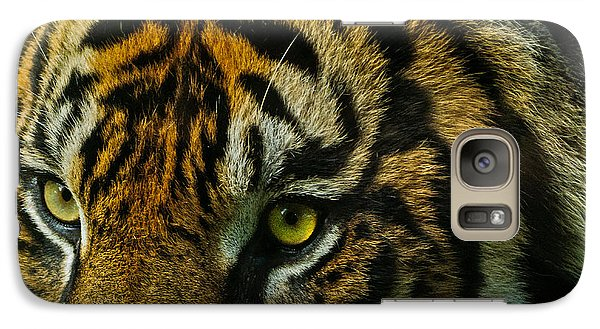 Galaxy Case featuring the photograph Tiger by John Johnson