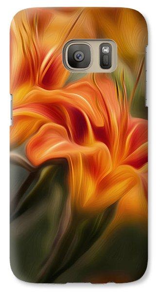 Tiger Lily Galaxy S7 Case