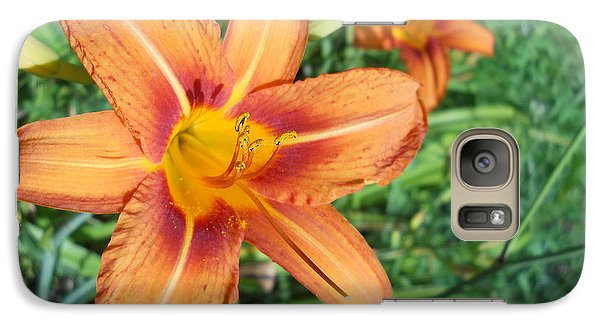Galaxy Case featuring the photograph Tiger Lily by Yolanda Raker