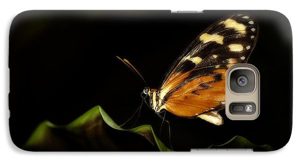 Galaxy Case featuring the photograph Tiger Monarch Butterfly by Zoe Ferrie