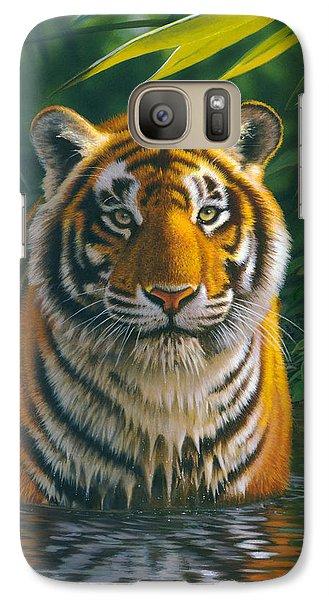 Tiger Pool Galaxy S7 Case