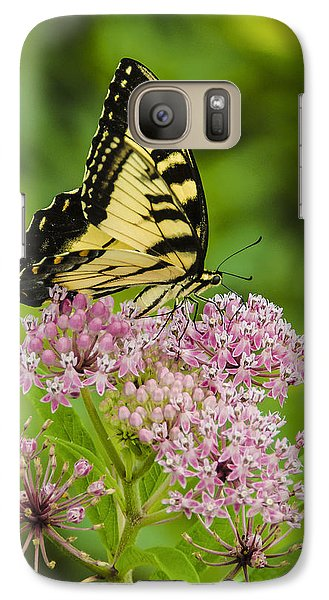 Galaxy Case featuring the photograph Tiger Swallow Tail by Bradley Clay