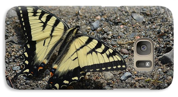 Galaxy Case featuring the photograph Tiger Swallowtail by James Petersen