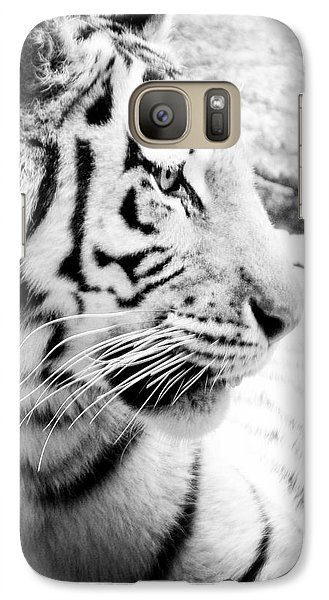 Galaxy Case featuring the photograph Tiger Watch by Erika Weber