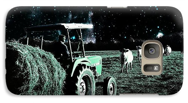 Galaxy Case featuring the photograph Till The Cows Come Home by Bob Pardue
