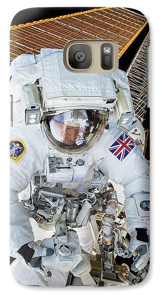 Tim Peake's Spacewalk Galaxy S7 Case