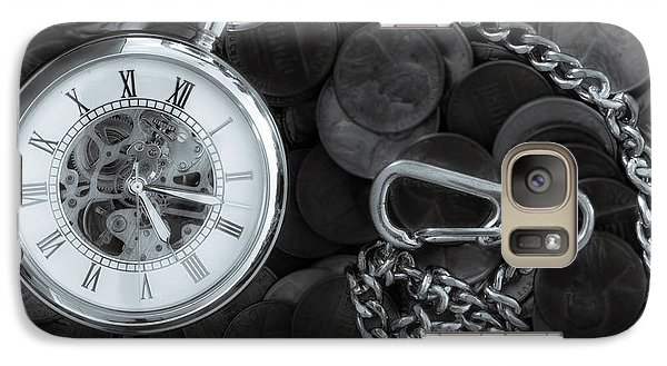 Time And Money Galaxy S7 Case by Bob Orsillo