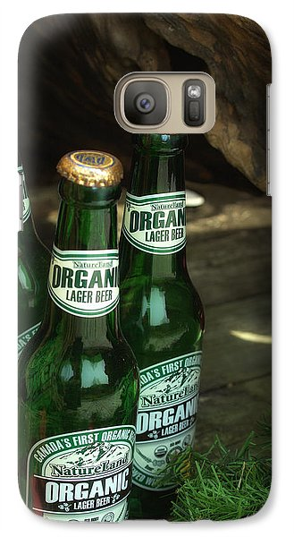 Galaxy Case featuring the photograph Time In Bottles by Rachel Mirror