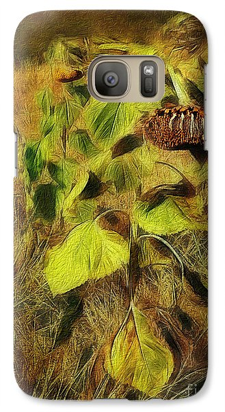 Galaxy Case featuring the digital art Time Is The Enemy by Rhonda Strickland