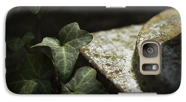 Galaxy Case featuring the photograph Time Is The Substance by Rebecca Sherman