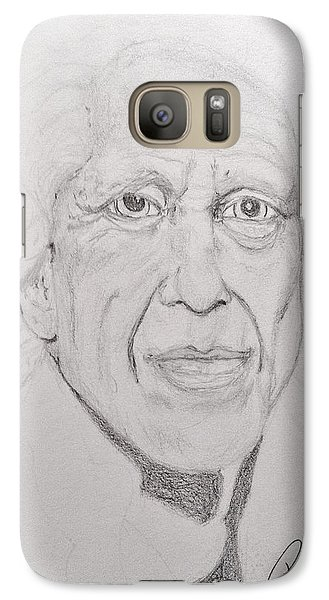 Galaxy Case featuring the painting Time Lines by Rand Swift