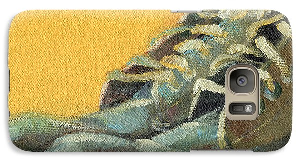 Galaxy Case featuring the painting Time Off by Natasha Denger