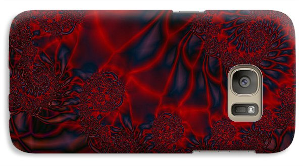 Galaxy Case featuring the digital art Time Slide by Elizabeth McTaggart
