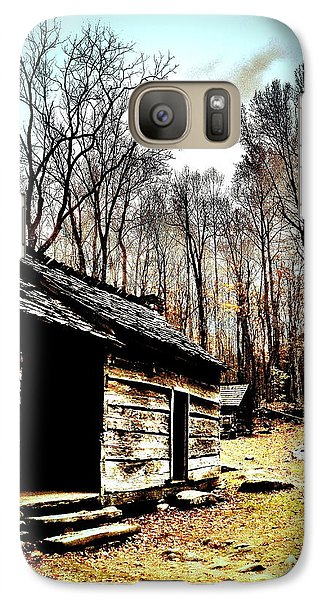 Galaxy Case featuring the photograph Time Standing Still by Faith Williams