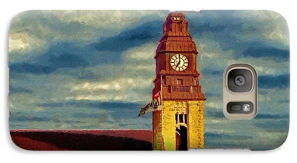 Galaxy Case featuring the painting Time To Go by Jeff Kolker