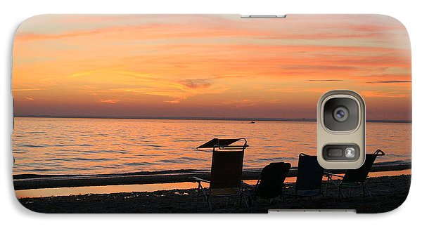 Galaxy Case featuring the photograph Time To Reflect by Karen Silvestri