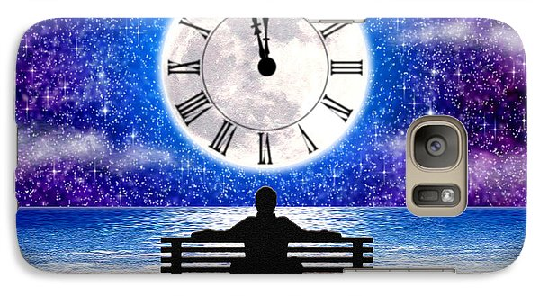 Galaxy Case featuring the digital art Time Waits For No One by Cristophers Dream Artistry