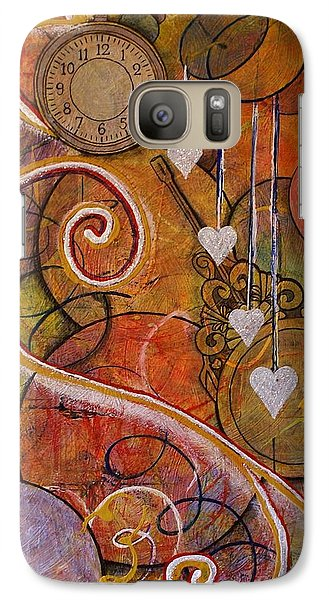 Galaxy Case featuring the painting Timeless Love by Jane Chesnut