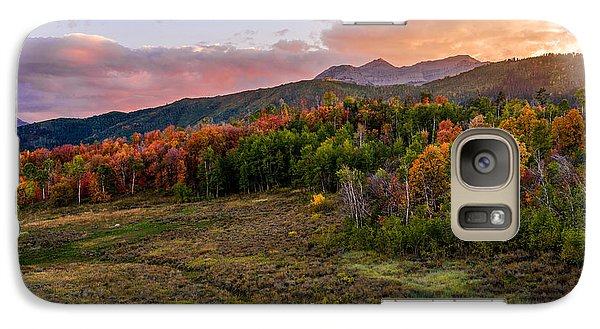 Mount Rushmore Galaxy S7 Case - Timp Fall Glow by Chad Dutson