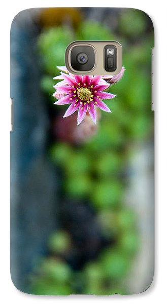 Galaxy Case featuring the photograph Tiny Blossom by Erin Kohlenberg