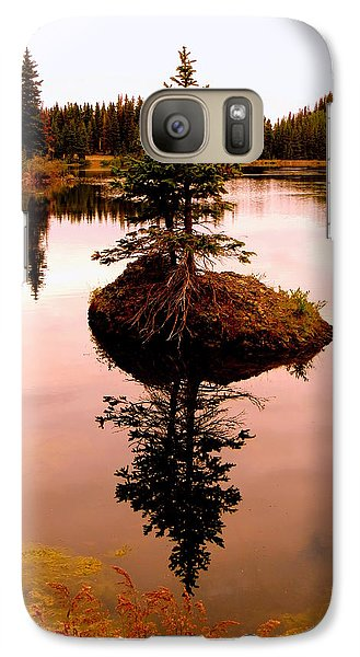 Tiny Island Galaxy S7 Case by Karen Shackles