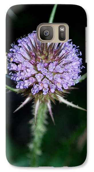 Galaxy Case featuring the photograph Tiny Petals by Mary Beth Landis