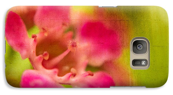 Galaxy Case featuring the photograph Tiny Pink by Takeshi Okada