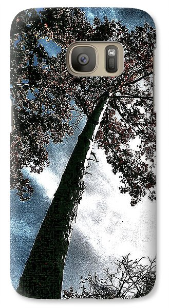Galaxy Case featuring the photograph Tippy Top Tree II Art by Lesa Fine
