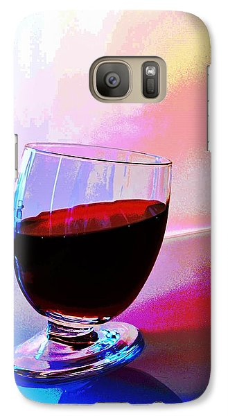 Galaxy Case featuring the photograph Tipsy by Ludwig Keck