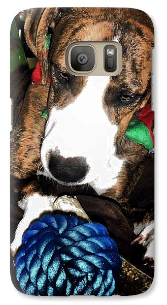Galaxy Case featuring the photograph 'tis Better To Receive by Robert McCubbin