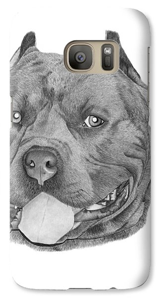 Galaxy Case featuring the drawing Titus - 024 by Abbey Noelle