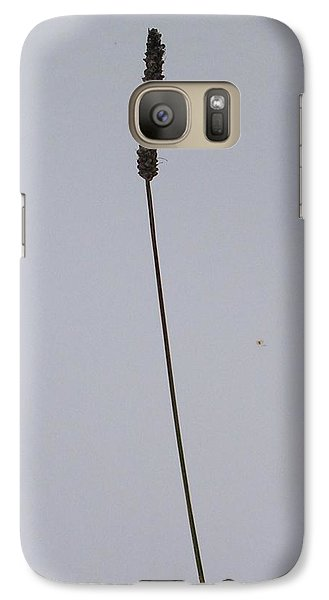 Galaxy Case featuring the photograph To Stand Alone by Rand Swift