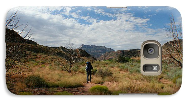 Galaxy Case featuring the photograph To The Desert by Jon Emery