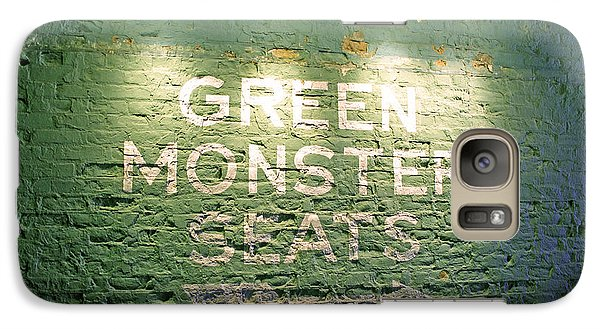 To The Green Monster Seats Galaxy S7 Case