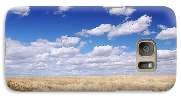 Galaxy Case featuring the photograph To The Horizon by Kjirsten Collier