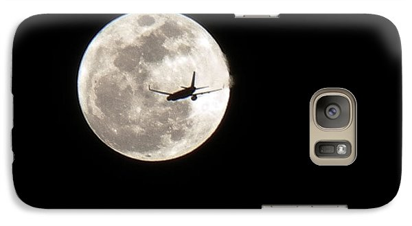 Galaxy Case featuring the photograph To The Moon by J Anthony