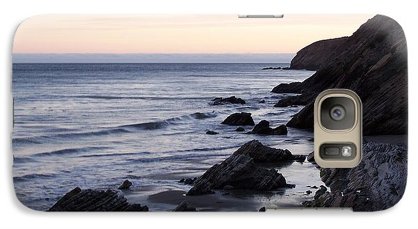 Galaxy Case featuring the photograph To The Sea by Christine Drake