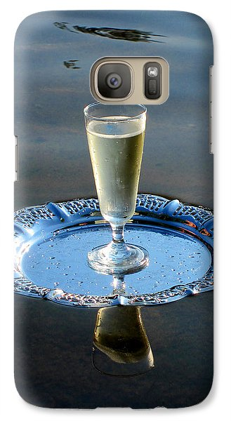 Galaxy Case featuring the photograph Toast To Life by Leena Pekkalainen