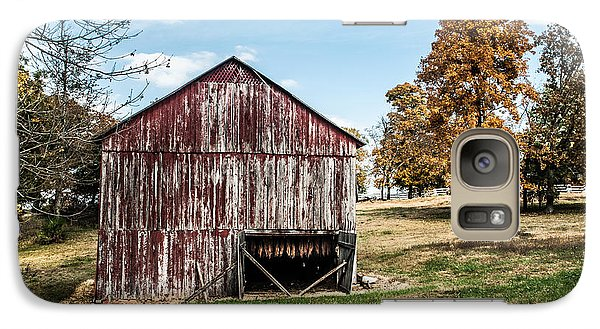Galaxy Case featuring the photograph Tobacco Barn Ready For Smoking by Debbie Green