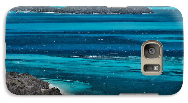 Galaxy Case featuring the photograph Tobago Cays by Don Schwartz