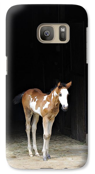 Galaxy Case featuring the photograph Toccoa At The Barn by Kenny Francis
