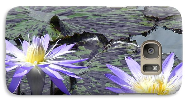 Galaxy Case featuring the photograph Together Is Beauty by Chrisann Ellis