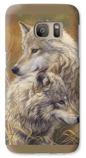 Together Galaxy S7 Case by Lucie Bilodeau