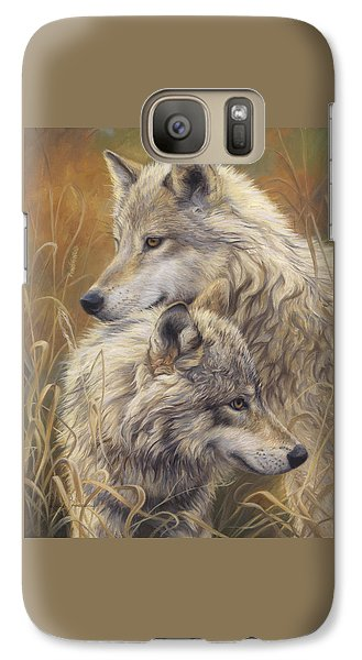 Wildlife Galaxy S7 Case - Together by Lucie Bilodeau