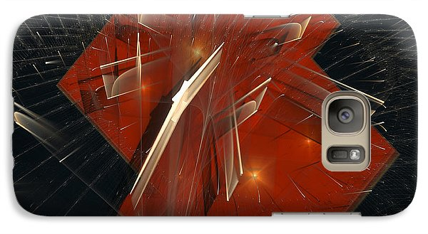 Galaxy Case featuring the digital art Together by Melissa Messick